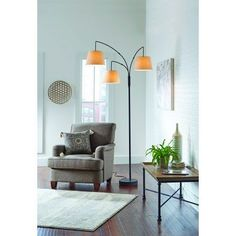 Better Homes & Gardens 3 Head Arc Floor Lamp Cheap Floor Lamps, Tall Floor Lamps, Floor Lamp With Shelves, Picture Frame Table, Interior Design Tools, Garden Shelves, Home Modern, Garden Lamps, Futuristic Furniture