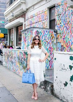 Chic Wish lace dress // Style Charade
