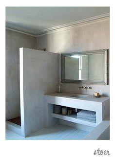 Stoer met beton look