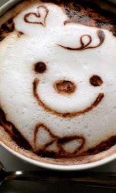 Smile Latte Art