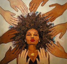Olá,     Conheçam a ilustradora Keturah Ariel.    Keturah é uma jovem negra ilustradora, muito famosa pelos seus desenhos maravilhosos. Pro...