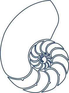 Nautilus Navy Blue Clip Art at Clker.com - vector clip art online ...