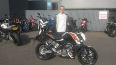 Thanks again Ryannow go and have some fun on your new KTM 125 Duke