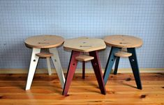 Folding stool, Scandinavian plywood stool, farmhouse stool. This stool is made for you by hand from high-quality plywood. The stool will decorate your home and give you a lot of pleasure. If necessary, the chair can be disassembled and stored flat-packed. The plywood stool does not take up much