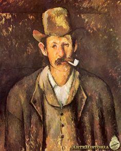 CEZANNE. Hombre de la pipa. 1890-92.