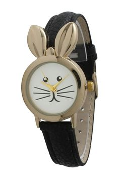 Olivia Pratt Women's Bunny Watch-  c Charlotte would love this...