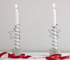 Portavelas para Navidad y Año Nuevo Decoracion Low Cost, Candles And Candleholders, Interior Exterior, Photo Booth, Hanukkah, Christmas Crafts, Candle Holders, Decorating, Porta Velas