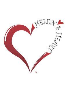 Helen's Heart Logo by Bradley Barger