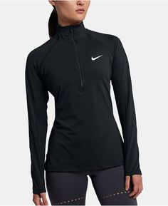 f0f5862afe999 main image Black Nike Jacket, Training Tops, Nike Pros, Black Nikes, Black