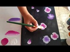 PINCELADAS ►☺PASO a PASO para ►►PRINCIPIANTES! [1] - YouTube Acrylic Painting Techniques, Painting Videos, Painting & Drawing, One Stroke, Youtube, Things To Buy, Acrylics, Hand Painted, Make It Yourself