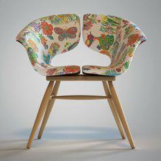 Tortie Hoare - Butterfly Chair