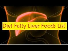 Diet Fatty Liver Foods List
