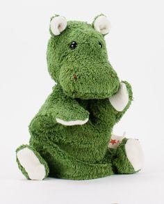 Das grüne Nilpferd vbn Kallisto - ein toller Freund für #Baby und #Eltern