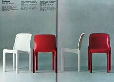 Selene stackable chair - Artemide by Vico Magistretti Artemide