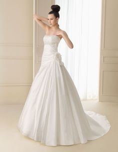 134 INERCIA | Wedding Dresses | 2012 Collection | Luna Novias