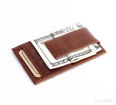 Luxusná vintage kožená peňaženka