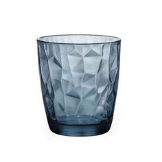 vodka glass product | BICCHIERE DIAMOND ACQUA CL.30,5 BLU BORM.ROCCO