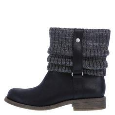 Women's Mocha Sweater BootWomen's Mocha Sweater Boot, Black