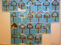 Winter knutsel groep 5 - Winter craft