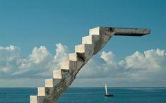 Concrete Diving Board Ilha De Mocambique, Mozambique