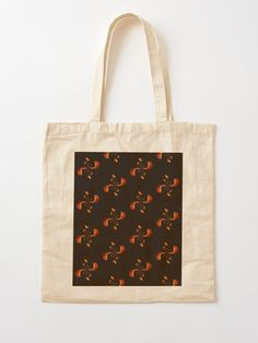 """The Crab"" Cotton Tote Bag, print design by Asmo Turunen. #design #totebag #shoppingbag #kestokassi #kangaskassi #atcreativevisuals"