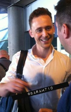 Hiddles in Toronto. So close yet so far....you need to come over west m'dear!