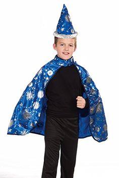 2b7de39995 Forum Novelties Lil Wizard Cape and Hat Child s Costume