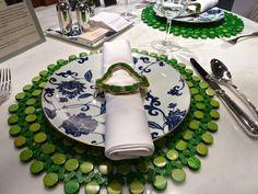 Allison Hennessy tablescape at Bilotta kitchens