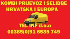 Kombi prijevoz i selidbe Zagreb, Hrvatska i Europa