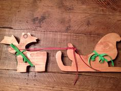 Reindeer and sleigh £25.00