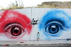 Last Hope // Spray paint & Acrylics (Meeting of Styles, Athens 2012) by INO