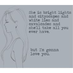 Bright lights and cityscapes by Sara Bareilles