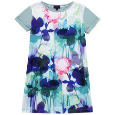 Paul Smith Junior Floral viscose jersey dress Estampado - 64102 | Melijoe.com