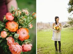 """Ranunculus Revelry"" workshop :: Photography by Brooke Courtney"