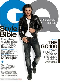 10 Important Things From Kit Harington's GQ Cover And Interview
