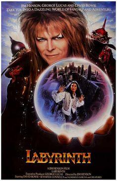 Labyrinth Crystal Ball David Bowie Movie Poster 11x17 – BananaRoad