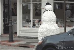 """THIS. DEMENTED. SNOWMAN. 
