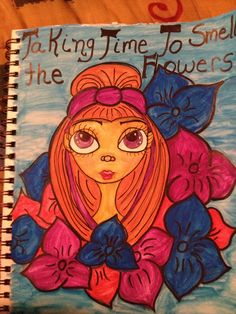 art journal page by mzqtz Tanya S