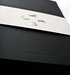 The unique launch display box showcased the wines and booklets.