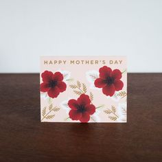 Wildflowers Happy Mothers Day Card