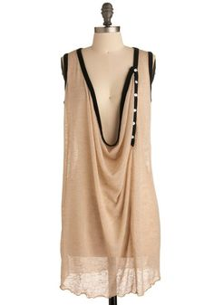 Lol... Uh... Definitely with a tank top underneath, but I like this dress... Lol. Oh people.