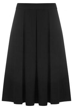 Louche Majori Pleated Midi Skirt