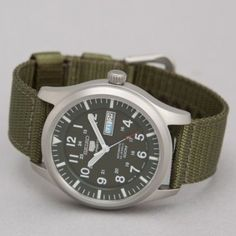 SEIKO Made in Japan Military Watch GREEN
