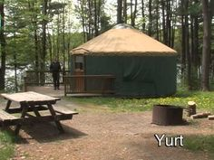 Love to camp? Enjoy a variety of camping facilities at Hills Creek State Park--from tent camping to cabins and Yurts.