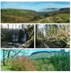 Glenarriff Forest Park & Waterfalls, Glens of Antrim, Northern Ireland #Roadtrip