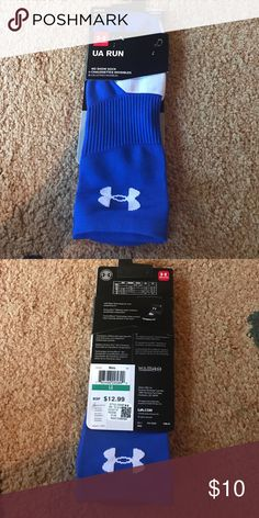 Men's Under Armour socks UA Run no show large NWT Size large, men's 9-12.5, women's 11-13.  Lyon/spandex. Please check my other listings. Thank you for looking and have a great day! Under Armour Underwear & Socks Athletic Socks