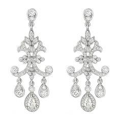 Penny Preville diamond chandelier earrings