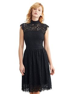 11efa0015b online shopping for Simple Retro Women s Cocktail Dress Vintage Floral Lace  Elegant Sleeveless Swing Formal Dress from top store.