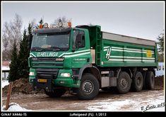 GINAF X4446-TS 8x8 kipper