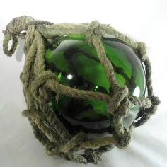 Large Green Japanese Floats | Many Hands Gallery